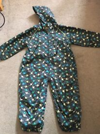 Boys Puddle Suit Age 2-3