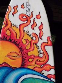 "7'2"" surfboard"