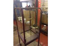 "22"" sq parrot cage with 36""height"
