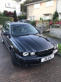 Jaguar x type 2 litre diesel