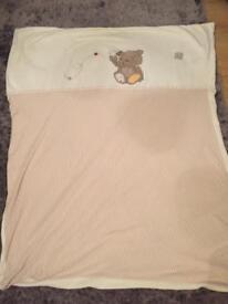 Mothercare precious bear bedding set