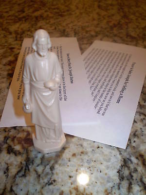 NEW St Joseph Statue Home Seller Selling Kit Saint House Figure & Instruction