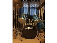 Full Drum Kit for Sale - Good condition!