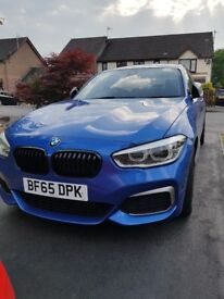 BMW M135i 8 Speed Auto Estoril Blue Very High Spec