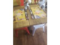 Restaurant chair and table for sale