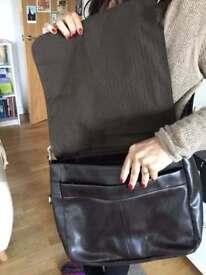 Aldo Men's messenger bag / Leather looking Vinyl