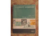 Stanley Gibbons stamp catalogue - Part 2 Europe and Colonies 1967