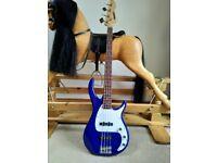Peavey Milestone 3 International series Bass Guitar Rare Colour - Excellent Condition