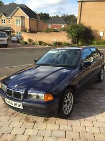 BMW with 12 months MOT! Low mileage and immaculate inside and out