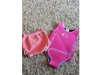 Neoprene Swimsuit and Splash About Happy Nappy