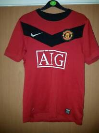 Manchester United Shirt 09/10 small