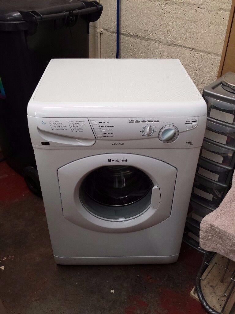 hotpoint 6kg 1100 spin washing machine