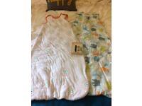 2 Grobag sleeping bags 18-36 months 2.5 tog