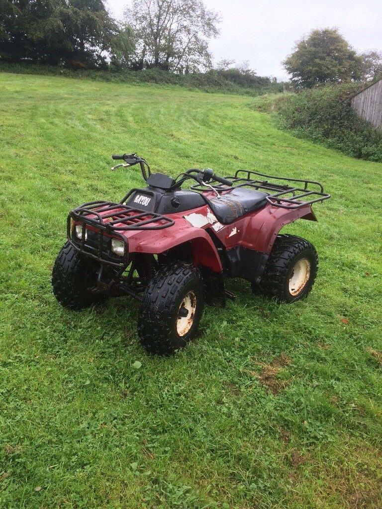 Kawasaki 220 farm quad | in Tiverton, Devon | Gumtree