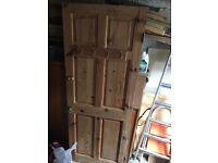 Pine door