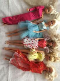Barbies.