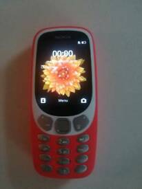 Nokia 3310 i think unlocked