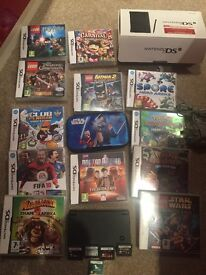 Nintendo DS with 18 great games