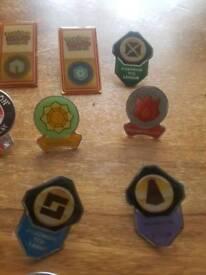 POKEMON tournament badges RARE