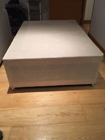 Free divan bed bases for a double bed