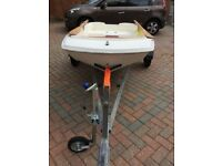 9ft dory plus trailer