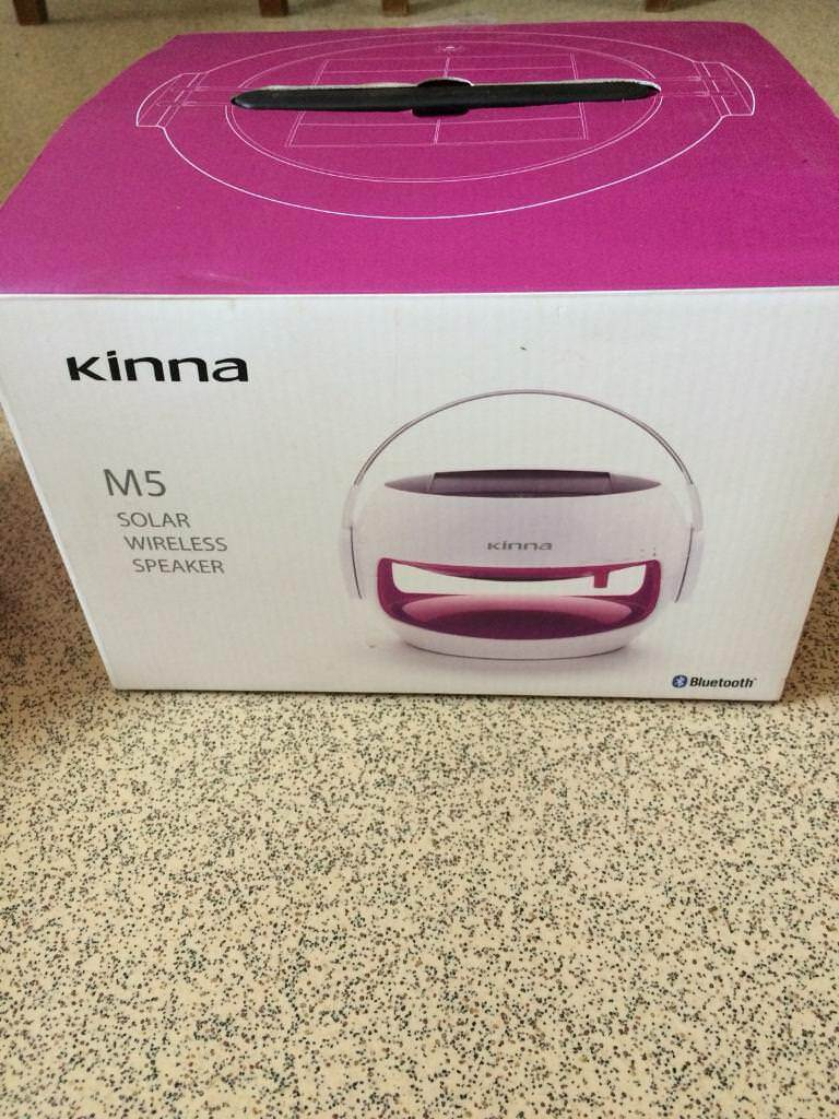 Kinna Solar Bluetooth Wireless Speaker | in Martham, Norfolk | Gumtree