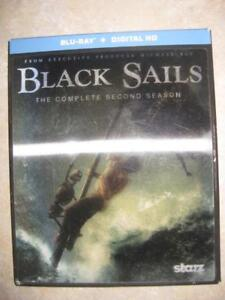 Black Sails: Season 2 (Blu Ray DVD). Action and Adventure. Zach McGown. Luke Arnold. Jessica Parker. Hannah New