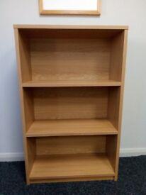 Light Oak Solid Quality Bookcase
