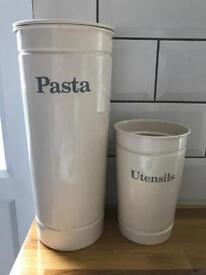M&S Pasta & Utensils Jar