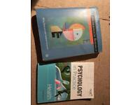 Psychology a level books for sale  Cardiff