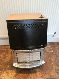 A Valor portable gas fire heater