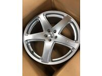 20 inch 5x108 new oz alloys set of five boxed