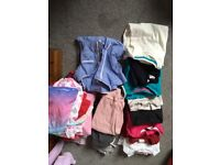 Girls clothes and pj bundle