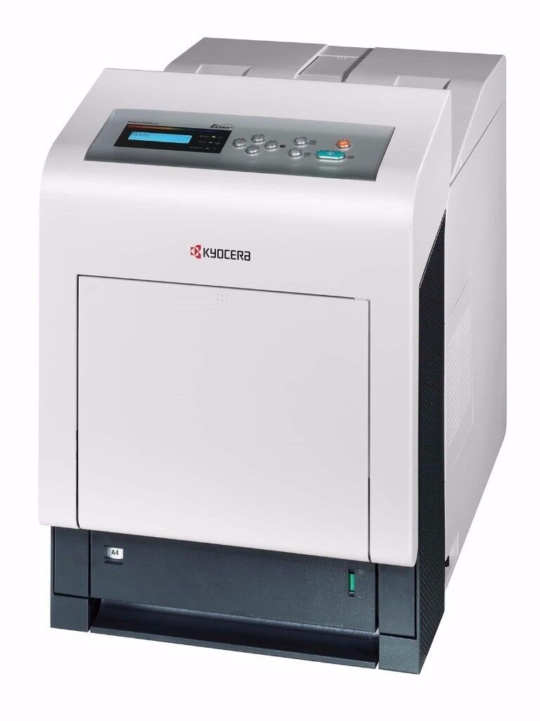 Kyocera P6030dcn A4 Colour Laser Printer With LCD Display