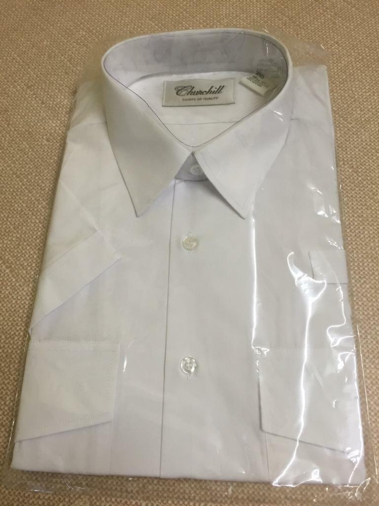 NEW Security Short Sleeved Shirt, 3 for £8 & 3 Used