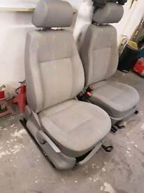Caddy mk3 seats 03-09 really clean no rips