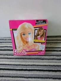 Brand new in box barbie head