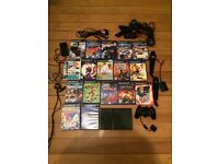 PS2 Slimline Console with games