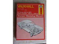 Haynes manuals books for sale gumtree haynes manual vauxhall viva 1970 1979 fandeluxe Choice Image