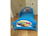 Lightning McQueen toddler bed (plastic/ canvas)
