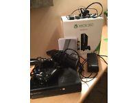 X BOX 360 500GB BUNDLE HARDLY USED