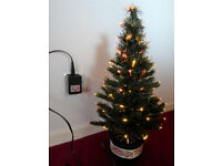 "Christmas Tree 24"", Fibre Optic Colour Changing, Low Voltage, Boxed"