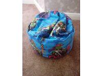 Teenage mutant ninja turtles beanbag