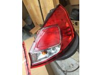 FORD FIESTA 2014 GINUINE DRIVER SIDE REAR LAMP