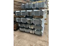 Galvanised Box Profile Roof Sheets - New - Various Sizes