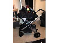 Chicco travel system with auto fix for car seat