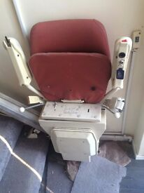 stair lift for sale is in good condition is been in house but no one use it