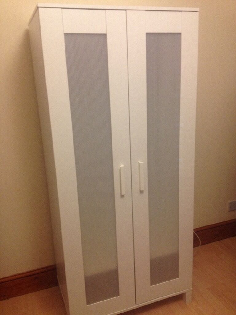 Ikea Aneboda white wardrobein Shepherds Bush, LondonGumtree - Ikea white Aneboda wardrobe, Well used, few small sign of use (not much visable). Good working condition. Collection from Shepherdsbush £12 Will remove add when sold. Thank U