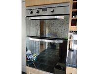 Perfectly working dual oven INDESIT for sale