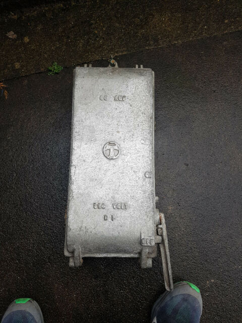 antique electric cast iron fuse box